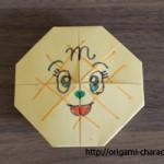折り紙 【アンパンマン】メロンパンナちゃんの折り方