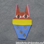 折り紙 【妖怪ウォッチ】ヒキコウモリの折り方