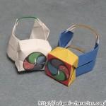 折り紙 【妖怪ウォッチ】妖怪ウォッチの折り方