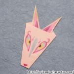 折り紙 【妖怪ウォッチ】キュウビの折り方