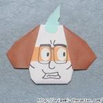 折り紙 【妖怪ウォッチ】じんめん犬の折り方