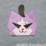 折り紙 【妖怪ウォッチ】ワルニャンの折り方