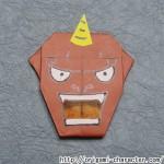 折り紙 【妖怪ウォッチ】ブリー隊長の折り方