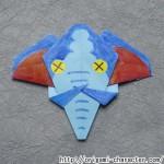 折り紙 【妖怪ウォッチ】モレゾウの折り方