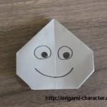 折り紙 【ドラクエ】スライムの折り方