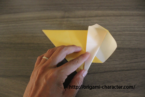 2マリオのキノコ1折り方5-1