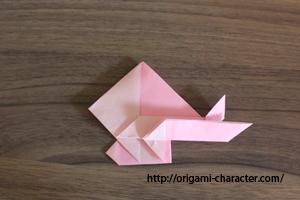 1グラードン1折り方45-2