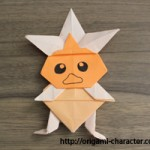 折り紙 【ポケモン】アチャモの折り方