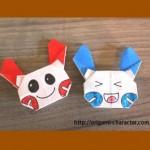 折り紙 【ポケモン】プラスルとマイナンの折り方