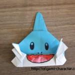 折り紙【ポケモン】ミズゴロウの折り方