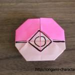 折り紙【ポケモン】モンスターボールの折り方