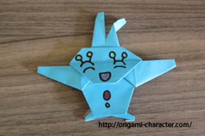 クリスマス 折り紙 折り紙 ポケモン : origami-character.com