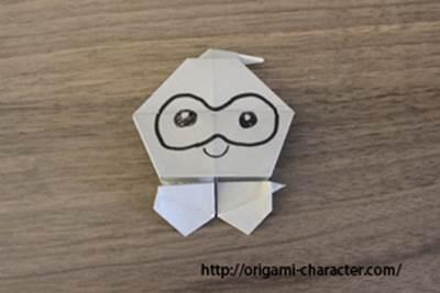 ハート 折り紙 折り紙 ポケモン 折り方 : origami-character.com